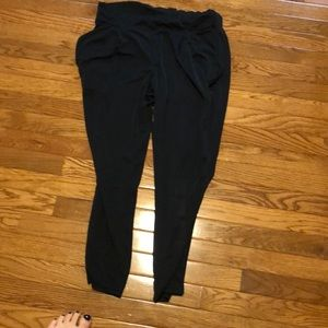 Black free people pants